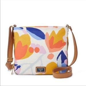 Fossil Preston Crossbody Floral Purse